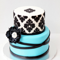 72 Damask And Blue 2 Tier Edited 1