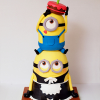 Minion Cake Made For A Special Brother And Sister Duo Minion cake made for a special brother and sister duo
