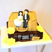 Suitcase Wedding Cake I've been asked to make a suitcase wedding cake that looks like this i believe the original cake was designed by special ice, just...
