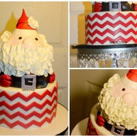 Made This Santa Clause Cake For A Birthday Celebration Made this Santa Clause cake for a birthday celebration