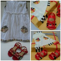 A Customer Brought Her Daughters Burberry Dress And Shoes As Inspiration For Her Birthday Cake And This Is What I Created A customer brought her daughters Burberry dress and shoes as inspiration for her birthday cake. And this is what i created.