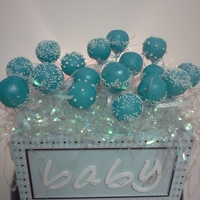 Baby Shower Cake Pops