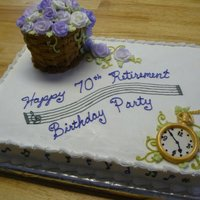 Combination Birthday & Retirement Celebration