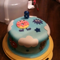 Moshi Monster Birthday Cake This is a Moshi Monster birthday cake made for my grandson. I had never heard of Moshi monsters till two days prior of making the cake lol...