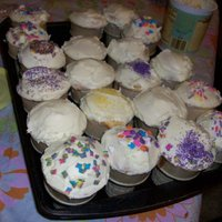 "Cute Kids Cakes/cupcakes Awesome ""Ice Cream Cone Cakes"" my kids made"