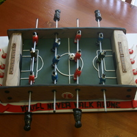 Fooseball Twin Boys16th Birthday Fooseball Cake