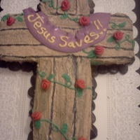 Cross Cake For childrens church.