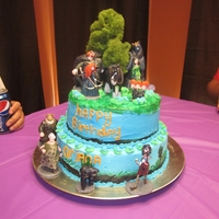 Brave Cake   From the movie brave