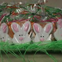 Rabbits And Carrots For Easter *