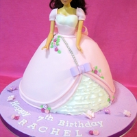 Princess Doll Cake My 2nd ever Princess Doll Cake!