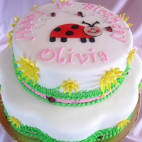 Little Lady Bug Turns 1 Olivia's 1st birthday