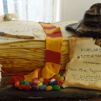 Harry Potter Cake   Chocolate Cake, Buttercream, Ganache, Fondant...everything edible....