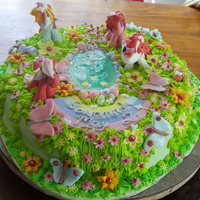 My Lil Pony Cake   Vanilla butter cake, white chocolate ganache, fondant, royal icing & gum paste