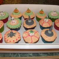 Halloween Cupcakes These are some cupcakes I made last year for Halloween