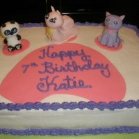 Littlest Pet Shop BUTTERCREAM WITH FONDANT ACCENTS