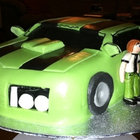 Ben 10 Car My first attempt at a 'car' cake. I was quite pleased with the end result.