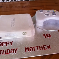 Xbox my nephews birthday, I recieved inspiration from cakecentral :)