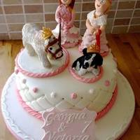 Princess Cake   *Joint 7th birthday! Princesses with there pets!!