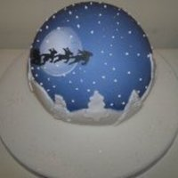 My Christmas Night Fall Globe   my christmas night fall globe!!