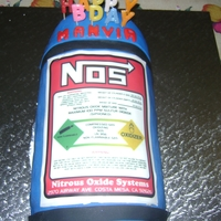 1321812667.jpg First try at a Nos bottle cake for my Brothers Birthday