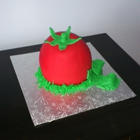 La Tomatina Cake   in honor of the festival in Spain La Tomatina