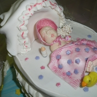 Sweetbaby Shower Cake