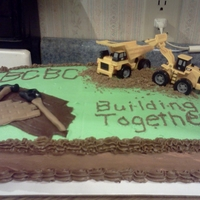 Church Building Fund Cake Our church had a building fund luncheon and we were ask to provide desserts - I thought this was an appropriate theme