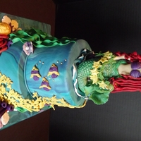 Little Mermaid Cake For 3 Year Old Madison The Shell With The Pearl Is Her Birthstone For June Little Mermaid cake for 3 year old Madison. The shell with the pearl is her birthstone for June.