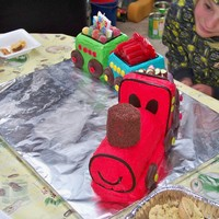 Train 1St Birthday Cake For My Son