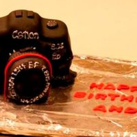 Mini Canon Birthday Cake