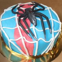 Spiderman Cake spinderman cake for emil