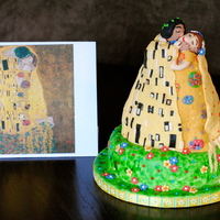 Klimt - The Kiss inspired by the painting (obviously) (Gustav Klimt - The Kiss) - but also by the take on it found here: