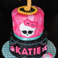 Monster High Lagoona Blue Inspired Cake Monster High - Lagoona blue inspired cake