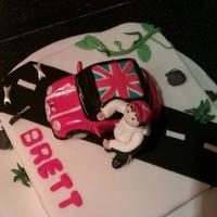 Mini Cooper Cake For A Teenager Vanilla Cake Filled With Raspberry Jam And Vanilla Buttercream The Car Is Hand Modelled Out Of Fondant An mini cooper cake for a teenager. Vanilla cake filled with raspberry jam and vanilla buttercream. The car is hand modelled out of fondant...