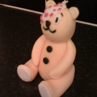 Pudsey Bear   Made this for a cake that is going to be raffled off where my husband works to raise cash for children in need.