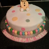 Pudsey Bear Cake For Children In Need All Hand Made Vanilla Cake With Raspberry Jam And Vanilla Buttercream Filling Pudsey bear cake for children in need all hand made. vanilla cake with raspberry jam and vanilla buttercream filling.