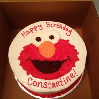 Elmo Birthday Cake Elmo birthday cake