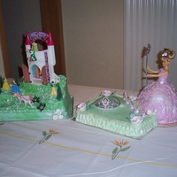 I Am A Princess Once more me and my daughter made this cake for Mikaela 5th birthday