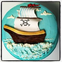 Pirate Ship Cake *Pirate Ship Cake