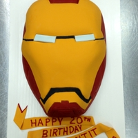 Iron Man Birthday Cake This birthday cake was an eggless vegan cake that I was able to sculpt and serve for a birthday. It took me 5 tries to get a recipe that...