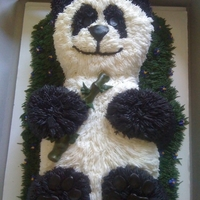 Panda Cake I knew this one was a hit when the birthday girl tried to hug it!