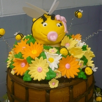 Mommy To Bee! What a big cupcake order. I had alot of fun crating this.