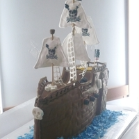 Arrrg! sugarveil sails. fondant and chocolate