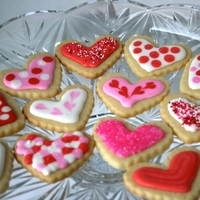 Heart Cookies Mini heart cookies!