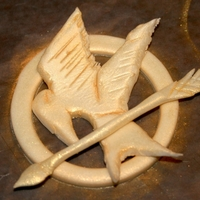 Mockingjay Cupcake Topper Mocking jay from The Hunger Games