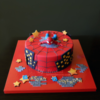 Spiderman Cake   Spiderman cake