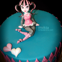 Monster High Cake, Draculaura.
