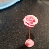 First Attempt At A Rose