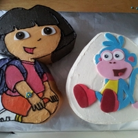 Dora The Explorer And Boots The Monkey