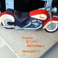 Made This Cake For A Coworker The Wheels Are Large Chocolate Disk Covered With Fondant The Fenders Are Carved Foam Covered With Fondant Made this cake for a coworker. The wheels are large chocolate disk covered with fondant, the fenders are carved foam covered with fondant,...